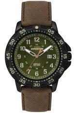 ราคา Timex Expedition นาฬิกาข้อมือผู้ชาย สีน้ำตาล ดำ สายหนัง รุ่น T49996 Timex สงขลา