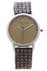 ราคา Timi Iceland นาฬิกาข้อมือผู้ชาย สายหนัง รุ่น Ggd14028R2 Matt Brown ใน สมุทรปราการ