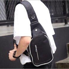 ขาย Tokyo Boy กระเป๋าสะพายไหล่ คาดอก แบบไนล่อน รุ่น Ne513 สีดำ ราคาถูกที่สุด