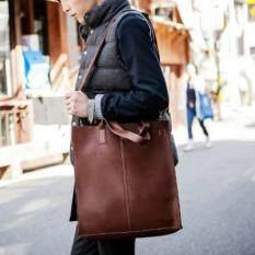 Tokyoboy กระเป๋าสะพายไหล่ หรือถือ ทรงยาว รุ่น Ne91 Brown Tokyoboy ถูก ใน ไทย