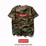 ขาย Top Quality Hot Sale Men S Fashion Supreme Short Sleeves T Shirt Camouflage O Neck Summer Cotton Casual Tops S Xxl Intl Supreme ถูก