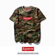 ขาย Top Quality Hot Sale Men S Fashion Supreme Short Sleeves T Shirt Camouflage O Neck Summer Cotton Casual Tops S Xxl Intl ออนไลน์ ใน สมุทรปราการ