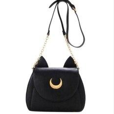 ซื้อ Top Rate Sailor Moon Shoulder Bag Ladies Luna Leather Handbag Women Crossbody Messenger Intl ถูก จีน