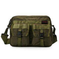 ซื้อ Toppower กระเป๋าสะพายข้างชาย American Fashion รุ่น6107 Green ถูก ใน กรุงเทพมหานคร