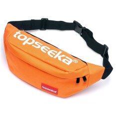 ซื้อ Topseeka กระเป๋าคาดอก กระเป๋าคาดเอว Tcb005 Orange None ถูก