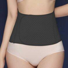 ส่วนลด Toptem Body Shaper Waist Trimmer Postpartum Support Belt Bengkung Modern Corset Girdle Belts Black Int One Size Intl จีน