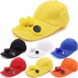 Total Link หมวกพัดลม พลังแสงอาทิตย์ โซล่าเซลล์ สีเหลือง กรุงเทพมหานคร