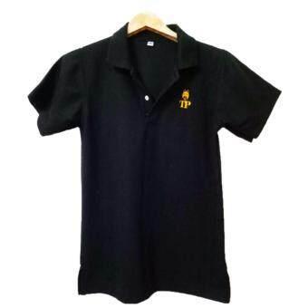เสื้อโปโล สีดำ แบรนด์ TP ไซส์ SMLXL