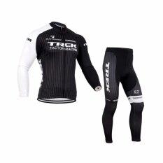 ราคา Trek ชุดปั่นจักรยานลายทีม ชุดยาว สีดำ ขาว Unbranded Generic เป็นต้นฉบับ