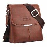 ราคา Trusty กระเป๋าสะพายหนัง Polo Videng 0259 Brown ถูก