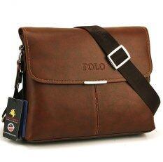 ส่วนลด Trusty กระเป๋าหนังสะพาย รุ่น Videng Polo 0399 สีน้ำตาล Trusty กรุงเทพมหานคร