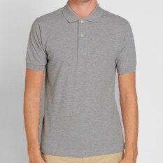 ขาย Tshirt ทีเชิ๊ตมาร์ท เสื้อโปโล ผ้าฝ้าย ผสม ทรง Regular Fit สีเทา ออนไลน์