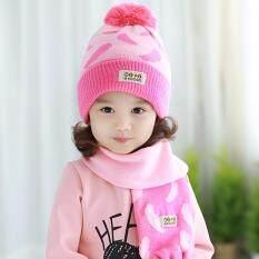 ราคา Tutuya หมวกเด็กสไตล์เกาหลี เซทหมวกไหมพรม หมวกกันหนาวพร้อมผ้าพันคอเข้าชุด สีชมพู ออนไลน์ ไทย