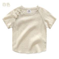 ขาย ทารก Tx 8262 ย้อนยุคใหม่เด็กเสื้อผ้าจีนเสื้อเสื้อผ้าสบายๆ สีขาว ถูก