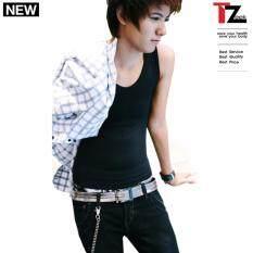 ทบทวน Tzeek เสื้อกล้ามทอมทีซีค เต็มตัว แบบสวม รุ่น Tz891 สีดำ คอวี Tzeek