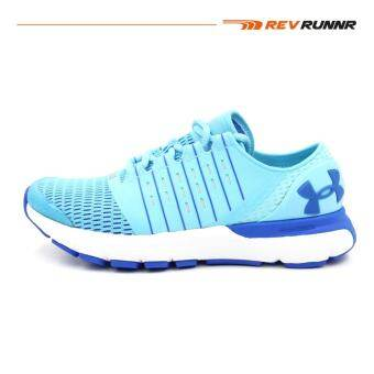 UA Women Running Shoes รองเท้าวิ่งผู้หญิง UA SPEEDFORM EUROPA-VENETIAN BLUE / WHITE