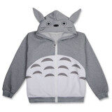 ขาย Ufosuit Hot Anime Totoro Gray Jacket Casual Style For Men Women Intl Ufosuit ถูก