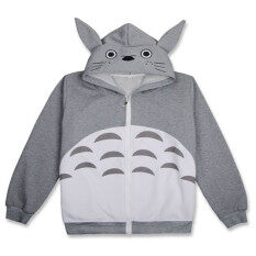 ขาย ซื้อ Ufosuit Hot Anime Totoro Gray Jacket Casual Style For Men Women Intl ใน จีน