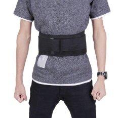 ซื้อ Uinn Infrared Magnetic Back Brace Posture Belt Lumbar Support Lower Pain Massager Intl ถูก