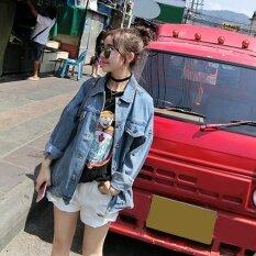 ขาย Uinn Korean Style Spring Autumn All Match Clothes Women Long Sleeve Denim Jacket S Intl ใน จีน
