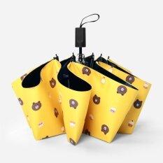 ราคา Umbrella Cartoon Bear Uv Sun Foldable Intl จีน