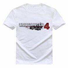 ขาย Uncharted 4 พิมพ์เสื้อยืด 002 สีขาว นานาชาติ เป็นต้นฉบับ
