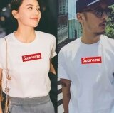 Uniex Supreme Fashion Leisure Cotton T Shirt White Intl จีน