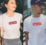 ซื้อ Uniex Supreme Fashion Leisure Cotton T Shirt White Intl Supreme ถูก
