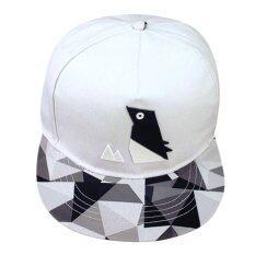 ราคา เพศ Snapback ปรับได้ฮิพฮอพหมวกเบสบอล ขาว ออนไลน์ จีน