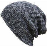 ซื้อ หมวกผ้าฝ้ายทอทรงเพศ Beanies ไหมพรมหงอไซส์ใหญ่พิเศษหมวกหมวกอุ่นNskullies Toucas ออนไลน์ ถูก