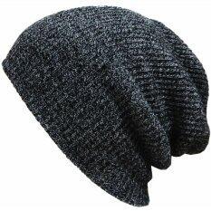 ซื้อ หมวกผ้าฝ้ายทอทรงเพศ Beanies ไหมพรมหงอไซส์ใหญ่พิเศษหมวกหมวกอุ่น Skullies Toucas