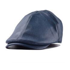 ขาย Unisex Leather Lvy Caps Bonnet Newsboy Beret Cabbie Gatsby Flat Golf Hats ผู้ค้าส่ง