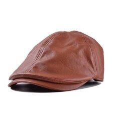 ราคา หมวกหนังหมวก Lvy เพศตลอดไปสวมหมวกโชเฟอร์ Gatsbynกอล์ฟหมวกแบน ระหว่างประเทศ Unbranded Generic แองโกลา