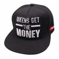 ขาย เพศหญิงชายมีเงิน Adjustablethe หมวกเบสบอลฮิพฮอพหมวกเบสบอล เป็นต้นฉบับ