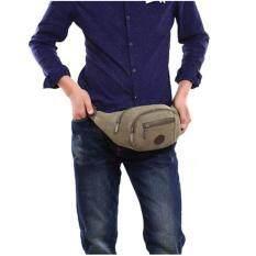 ซื้อ Upper กระเป๋าผู้ชายสะพายข้าง คาดอก คาดเอว ผ้าCanvas รุ่น Tk28 สีเขียว ถูก กรุงเทพมหานคร