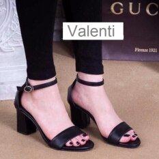 ขาย Valenti รองเท้าส้นสูงแฟชั่นผู้หญิง รุ่น Fht002 Black สีดำ ถูก ใน สมุทรปราการ