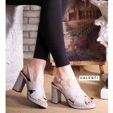 ราคา Valenti รองเท้าส้นสูงแฟชั่นผู้หญิง รุ่น Ft 305 Grey สีเทา เป็นต้นฉบับ