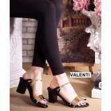 ขาย Valenti รองเท้าส้นสูงแฟชั่นผู้หญิง รุ่น Ft 387 Black สีดำ ราคาถูกที่สุด
