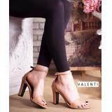 ทบทวน Valenti รองเท้าส้นสูงแฟชั่นผู้หญิง รุ่น Ft 404 Tan สีแทน Valenti