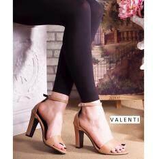 ราคา Valenti รองเท้าส้นสูงแฟชั่นผู้หญิง รุ่น Ft 404 Tan สีแทน เป็นต้นฉบับ