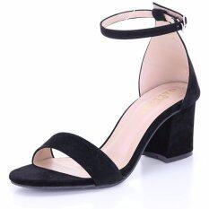 ซื้อ Valenti รองเท้าส้นสูงแฟชั่นผู้หญิง รุ่น G12 39 Black สีดำ ใน Thailand