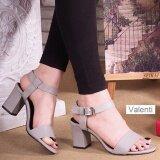 ราคา Valenti รองเท้าส้นสูงแฟชั่นผู้หญิง รุ่น Vl 197 Grey สีเทา Valenti เป็นต้นฉบับ