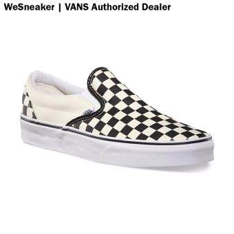 VANS Slip On - Checkerboard Black Off White