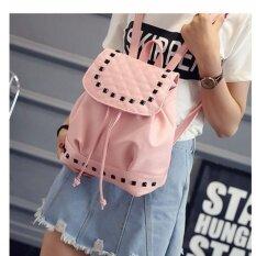 ราคา Vena กระเป๋าแฟชั่นผู้หญิง กระเป๋าเป้สะพายหลัง กระเป๋าหนังรุ่น V23 Pink เป็นต้นฉบับ