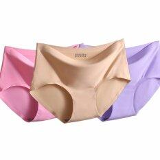 ราคา Vena Wear กางเกงในไร้ขอบ เนื้อผ้านุ่มลื่นบางเบา เพื่อให้สัมผัสที่เนียนเรียบ แพค3ตัว3สี Vena Wear ออนไลน์