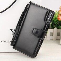 ขาย Victory Han Edition New Leisure Multi Function Wallet Long Zipper Buckles Hand Bag Black Intl ออนไลน์ จีน