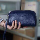 โปรโมชั่น Victory Ladies Wallet Han Edition Fashion Leather Zero Wallet Blue Intl Intl Unbranded Generic ใหม่ล่าสุด