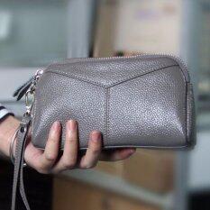 ส่วนลด Victory Ladies Wallet Han Edition Fashion Leather Zero Wallet Grey Intl Intl Unbranded Generic จีน