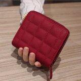 โปรโมชั่น Victory Ma Am Korean Mini Wallet Zipper Short Wallet Embroidered Wallet Red Intl Unbranded Generic ใหม่ล่าสุด