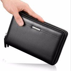 ส่วนลด Victory Men S Hand Bag Cowhide Handbag Wallet Business Affairs Men S Bag Black Intl Unbranded Generic ใน จีน